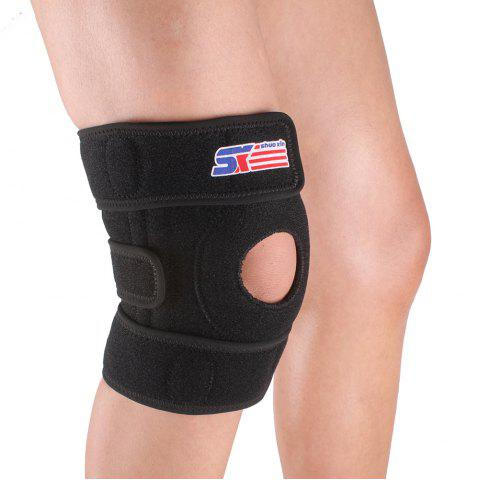 Sale Shou Xin SX617 Variable Silicone 4 - Spring Knee Patella Guard - Black