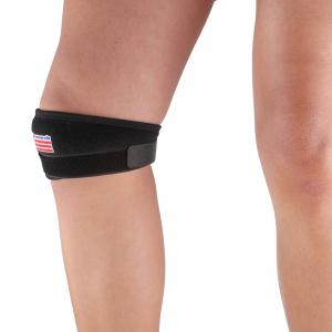 Shou Xin SX620 Classical Sport Patella Band Knee Guard Protector - Black -