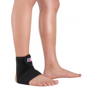 Shou Xin SX660 Sports Basketball Elastic Ankle Foot Brace Support - Black -