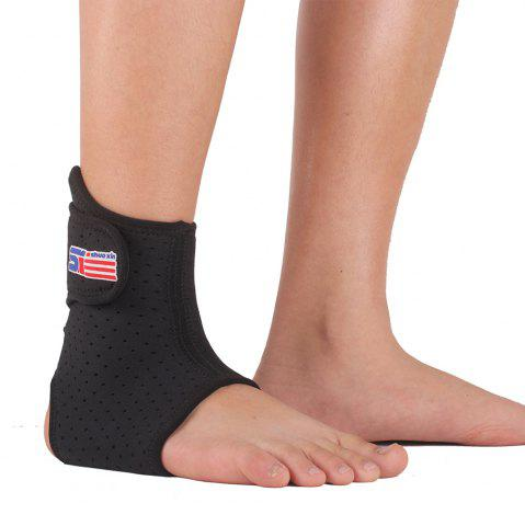 Store Shou Xin SX662 Sports Basketball Elastic Ankle Foot Brace Support Wrap - Black