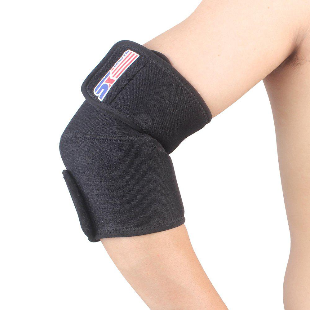 Chic Shou Xin SX506 Sports Golf Elbow Pad Brace Support Wrap Adjustable - Black