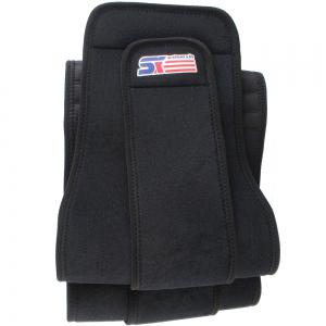 Shou Xin SX532 Double Press  6 - Spring Elastic Waist Guard Protector - Black -
