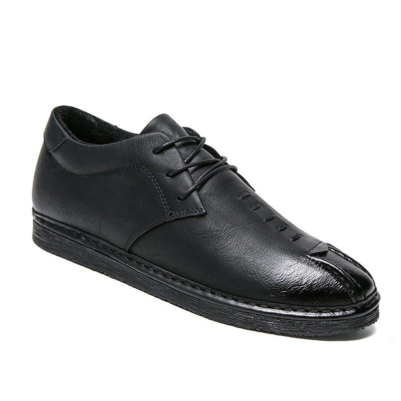 Discount Men's Sneakers British Leather Male Wild Students Shoes