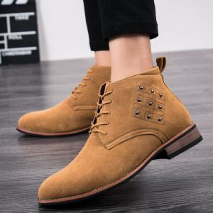 Men's Classic Fashion Shorts Leather Shoes -