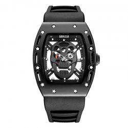 Baogela 1612 Fashionable Creative Silicon Band Men Watch -