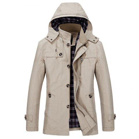 Hot Solid Big Size Leisure Coat