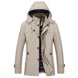 Solid Big Size Leisure Coat -
