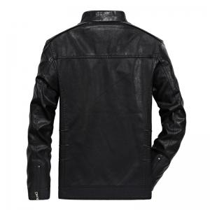 Men Autumn Fashion Leather Jacket -