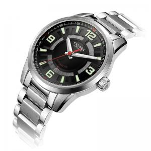 CADISEN C8100 Men Stainless Steel Case Automatic Wristwatch -
