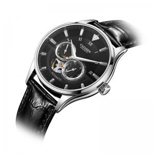CADISEN C8111 Men Leather Band Automatic Wristwatch -