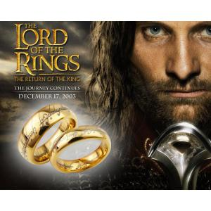 2017 New Tungsten Carbide LOTR Lord of Ring for Women Men Band Wedding Jewelry Cocktail Lover Rings Father Gift anillos A0070 -