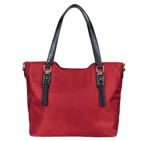 Outfit Oxford Textile Cloth Tote Bag Anti Wrinkle Waterproof Portable Large Capacity Durable Shoulder Diagonal Cross Hand Bag