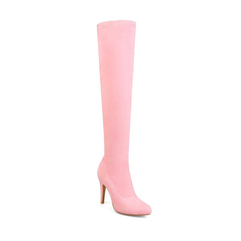 bd6b5b4c305 Buy Women s Shoes Winter Fashion Slouch Pointed Toe Thigh-high Boots