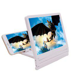 Phone Screen Magnifier HD 2X-4X Amplifying Holder -