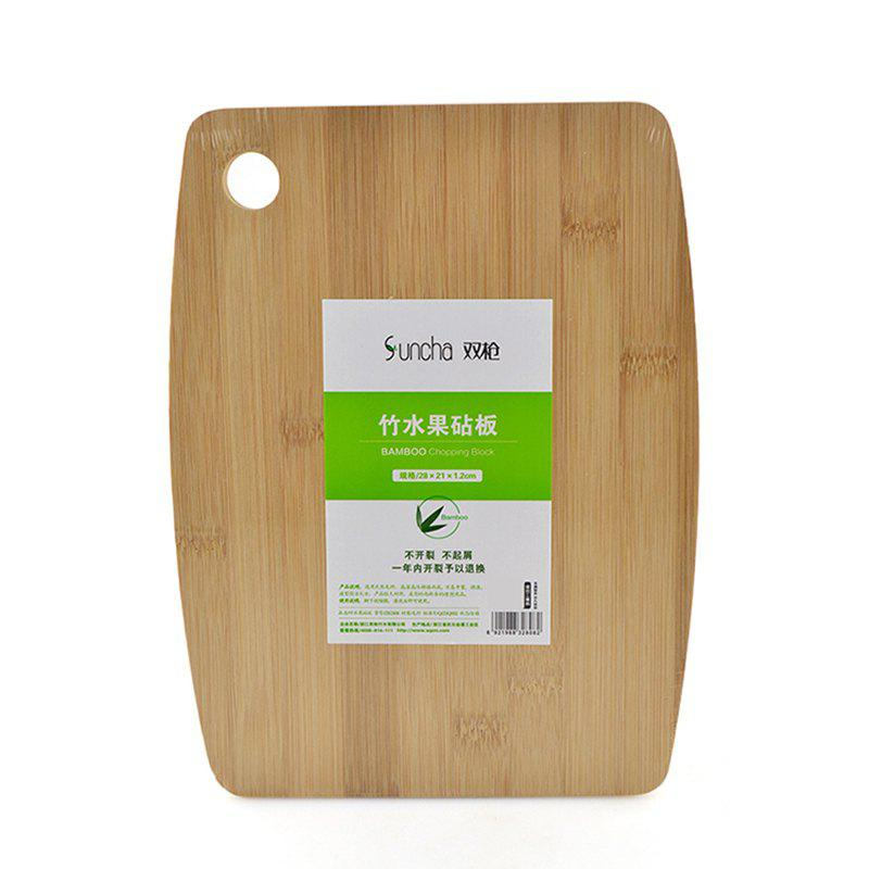 Best Suncha Bamboo Craft Green Fruit Cutting Board