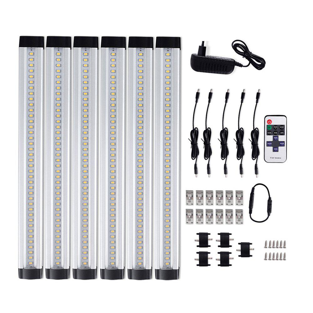 Shops 36W 3100LM 12V 12 inch Dimmable LED Under Cabinet Lighting Total Accessories Included Closet Light Fixtures 6PCS
