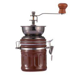 Retro Hand Coffee Beans Grinder Pepper Spices -