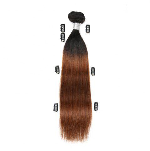 Hot Rebecca Fashion Brazilian Remy Human Hair Straight Weaves R5 1pc/lot 100g RC09177