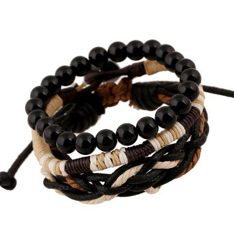 Shop Men's Bracelet Set beads All Match Chic Accessory
