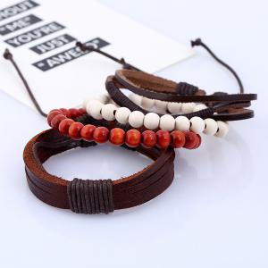 4Pcs Men's Bracelet Stylish All Match Accessory -