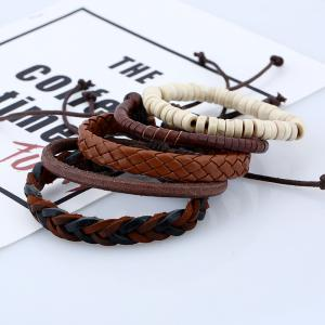 Men's Bracelet Set Vintage All Match Accessory -