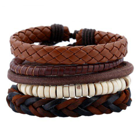 Hot Men's Bracelet Set Vintage All Match Accessory