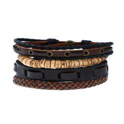 Men's Bracelet Set Vintage All Match Cool Accessory -