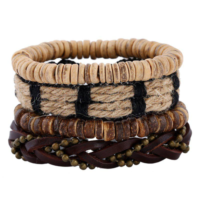 Unique Men's Bracelet Set Casual Accessory