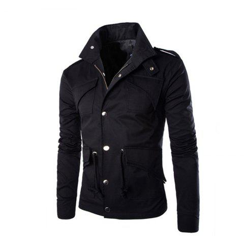 Buy Men's Safari Jacket MIlitary Jackets Coat Men