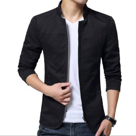 Online Men's Cotton Washed Jacket