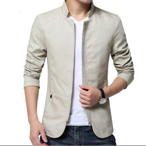 Trendy Men's Cotton Washed Jacket
