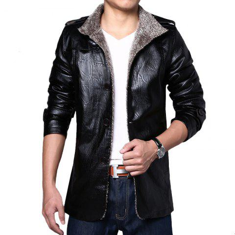 Hot Men's PU Leather Jacket