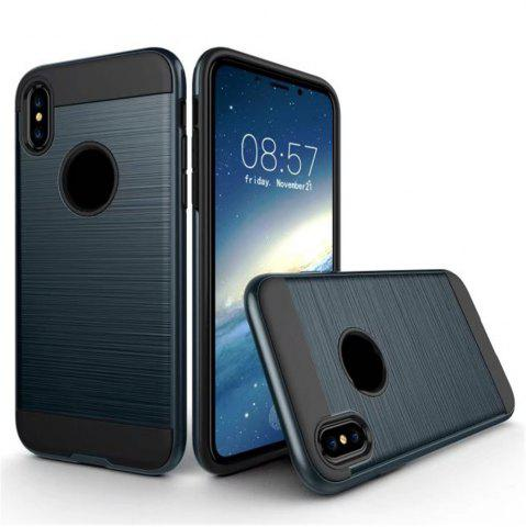 Outfit Dual Layer Hybrid Shockproof Cover Slim Armor Provides Complete All-Around Protection for iPhone X Case