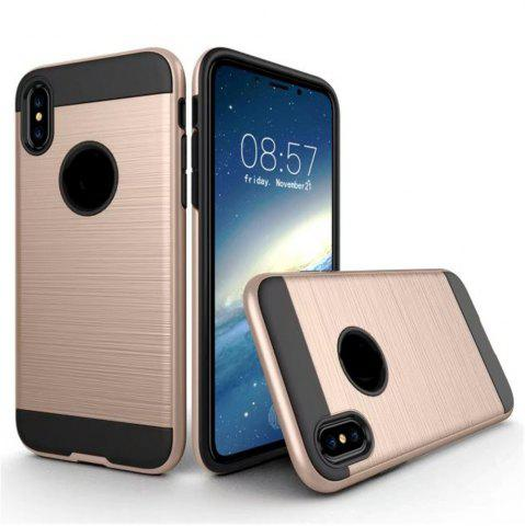 Chic Dual Layer Hybrid Shockproof Cover Slim Armor Provides Complete All-Around Protection for iPhone X Case