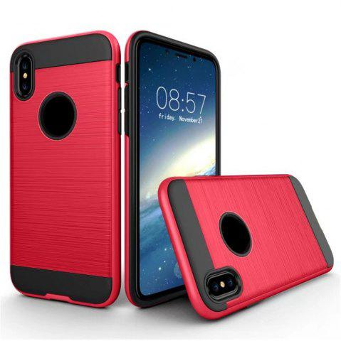 New Dual Layer Hybrid Shockproof Cover Slim Armor Provides Complete All-Around Protection for iPhone X Case