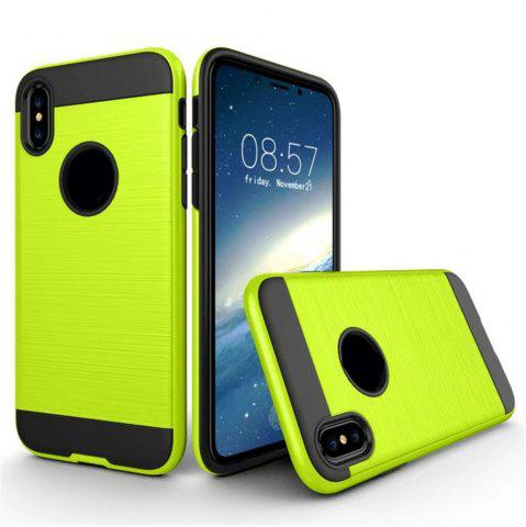 Best Dual Layer Hybrid Shockproof Cover Slim Armor Provides Complete All-Around Protection for iPhone X Case