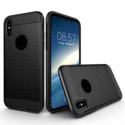 Dual Layer Hybrid Shockproof Cover Slim Armor Provides Complete All-Around Protection for iPhone X Case -