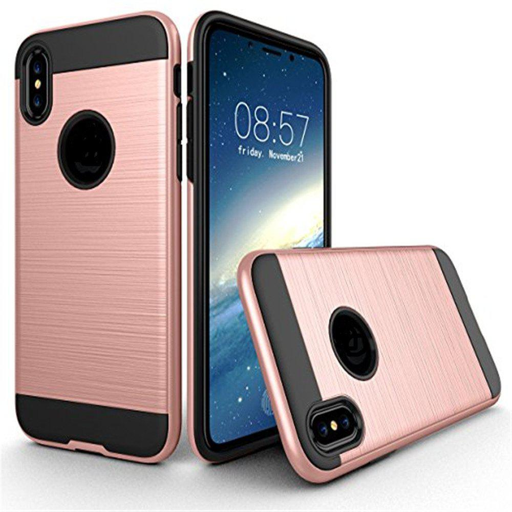 Fancy Dual Layer Hybrid Shockproof Cover Slim Armor Provides Complete All-Around Protection for iPhone X Case