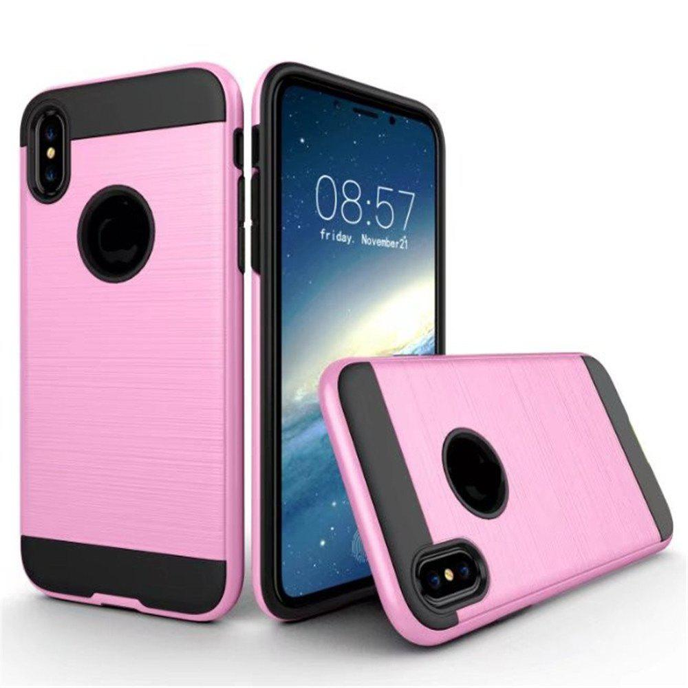 Cheap Dual Layer Hybrid Shockproof Cover Slim Armor Provides Complete All-Around Protection for iPhone X Case