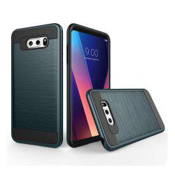 Carbon Dimension Wire Drawing Business Fashion Shock Absorption for LG V30 Case -