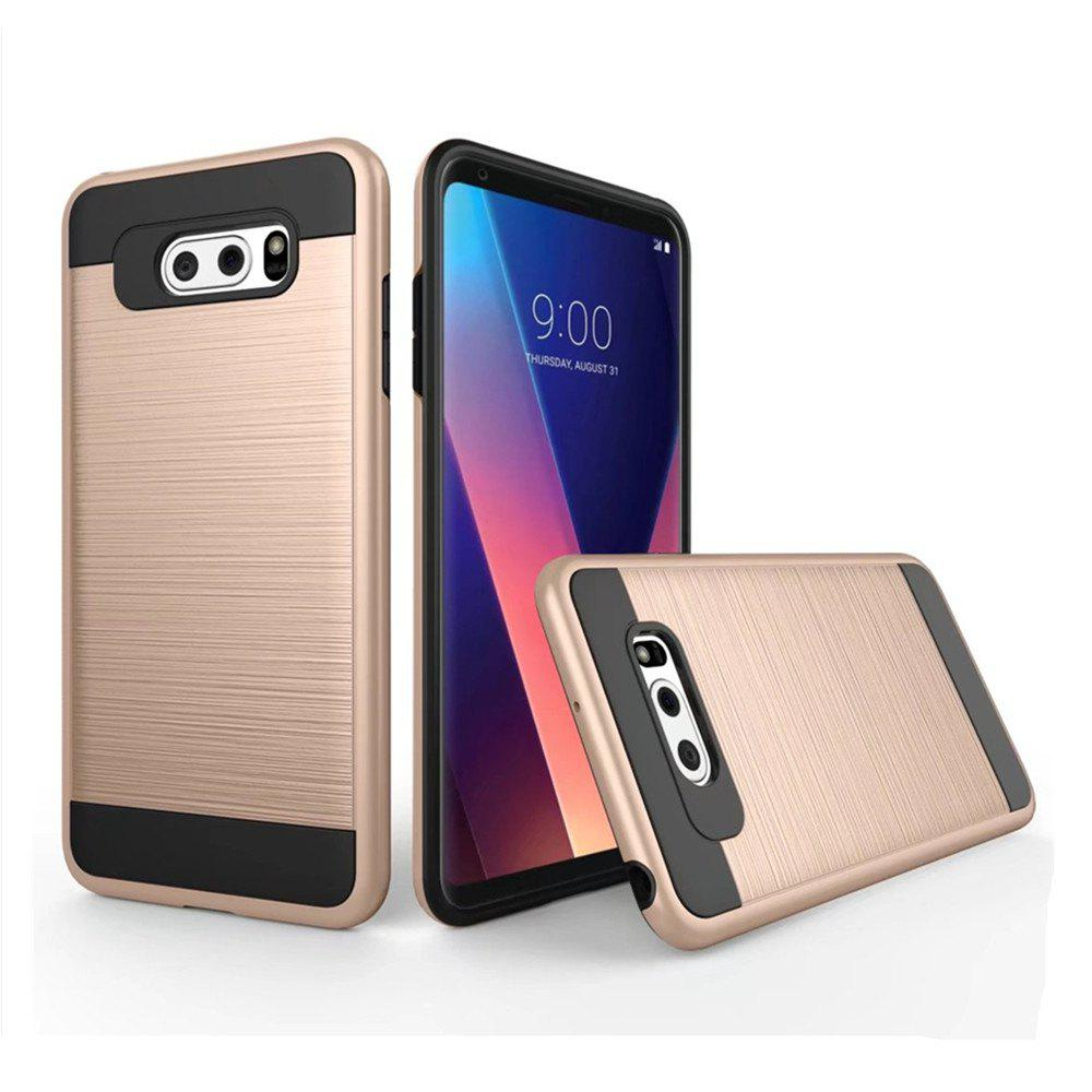Cheap Carbon Dimension Wire Drawing Business Fashion Shock Absorption for LG V30 Case