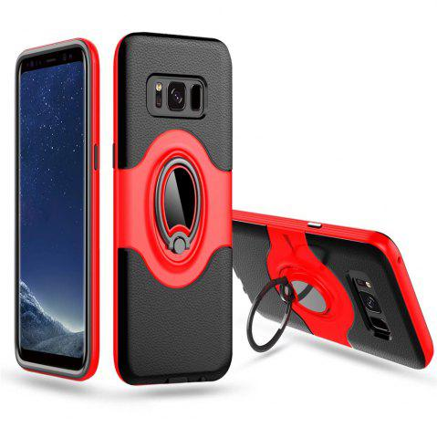 Outfits with Shock Absorption Dual Cover Design Phone Ring Holder Anti-scratch Protective  for SamSung Galaxy S8 Case