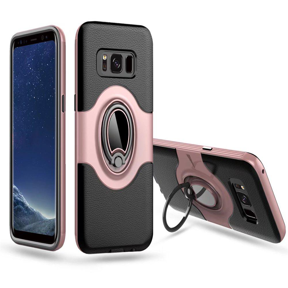 Outfit with Shock Absorption Dual Cover Design Phone Ring Holder Anti-scratch Protective  for SamSung Galaxy S8 Case