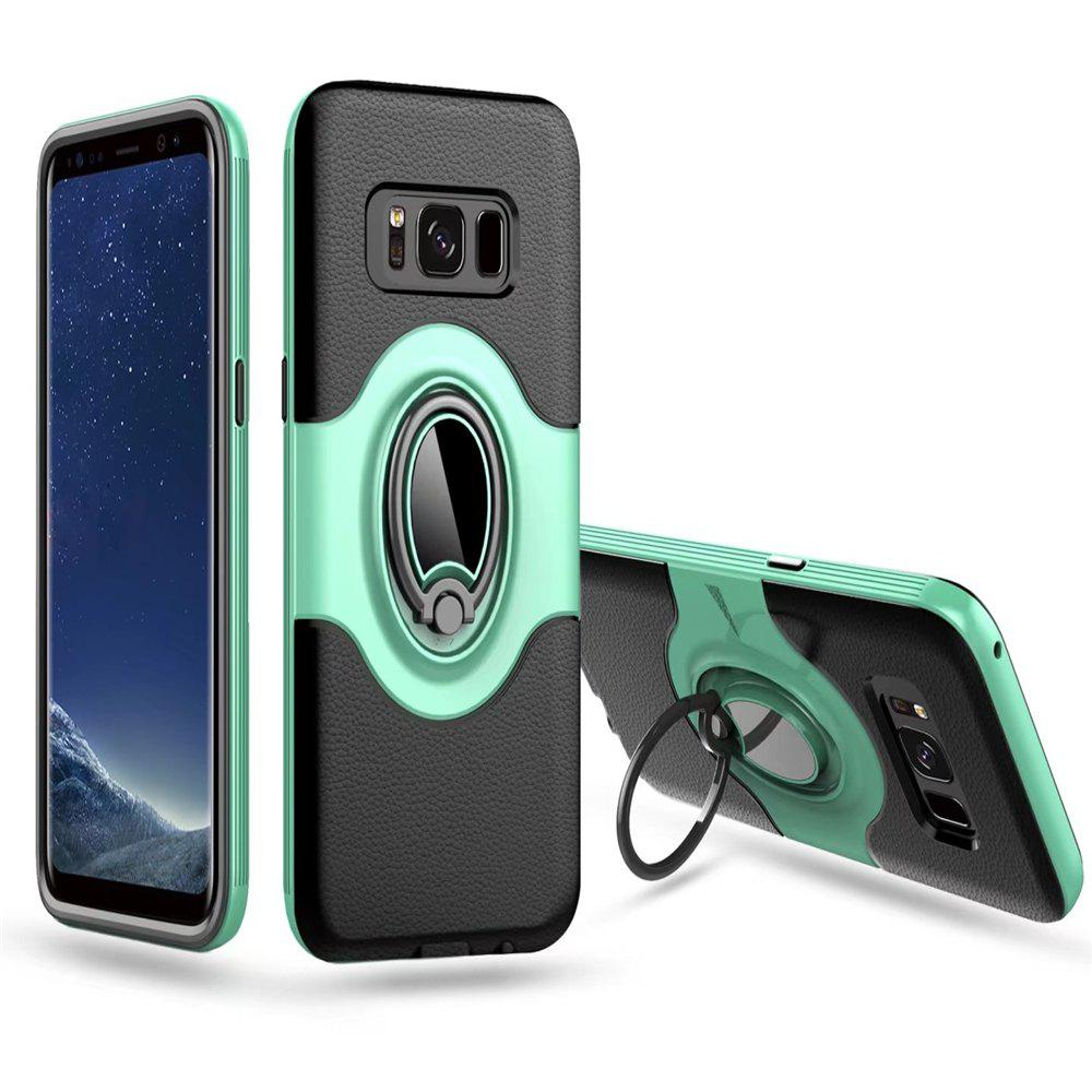 Chic with Shock Absorption Dual Cover Design Phone Ring Holder Anti-scratch Protective  for SamSung Galaxy S8 Case