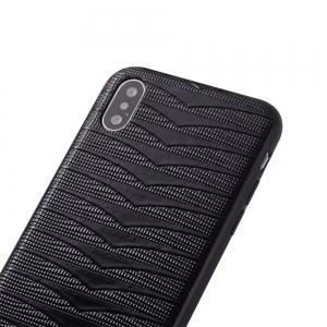 Phantom Variable  Model Of PC TPU Leather Triad New Following  for iPhone X Case -