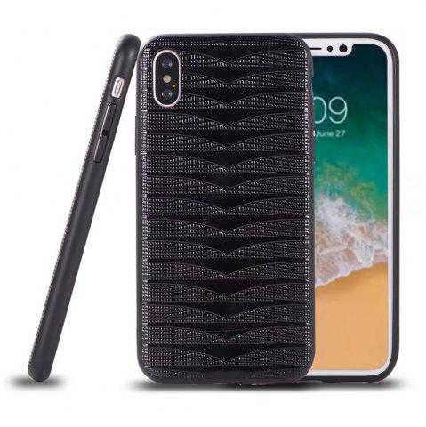 Shops Phantom Variable  Model Of PC TPU Leather Triad New Following  for iPhone X Case