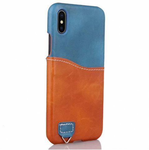 Discount Credit Card Holder Slim Leather Shockproof Protective Hybrid Case for Apple IPhone X 5.8 Inch 2017