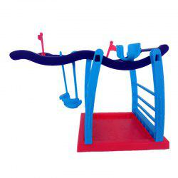 Interactive Jungle Gym Playset Climbing Stand Platform for Monkey