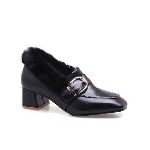 Discount Metal  Winter Single Shoes