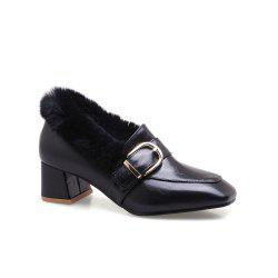Metal  Winter Single Shoes -